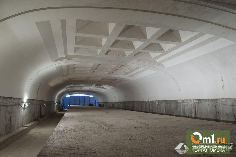 В омском метро только в этом году начнут внутреннюю отделку станций