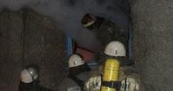 В Омске МЧС спасли детей из пожара