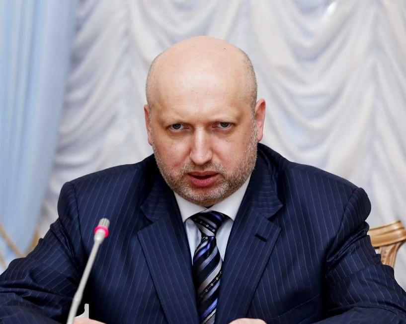 Турчинов передал на подпись Порошенко закон об особом статусе Донбасса