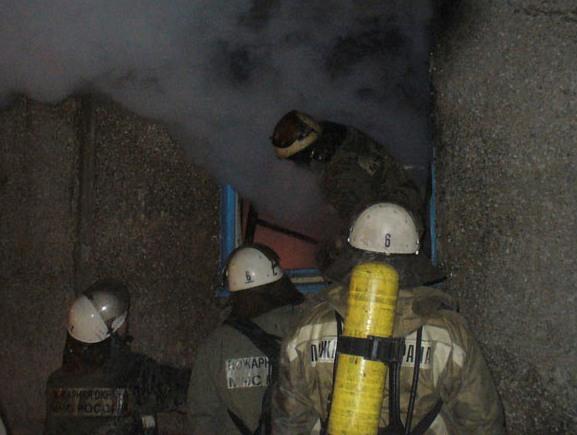 Пожар на пятой Кордной заметил очевидец