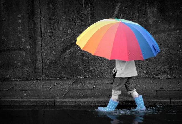 В Омск идут дожди и низкое атмосферное давление