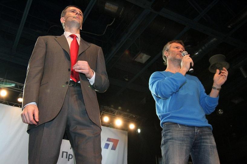 Ройзман, Прохоров и Макаревич вышли из «Гражданской платформы»