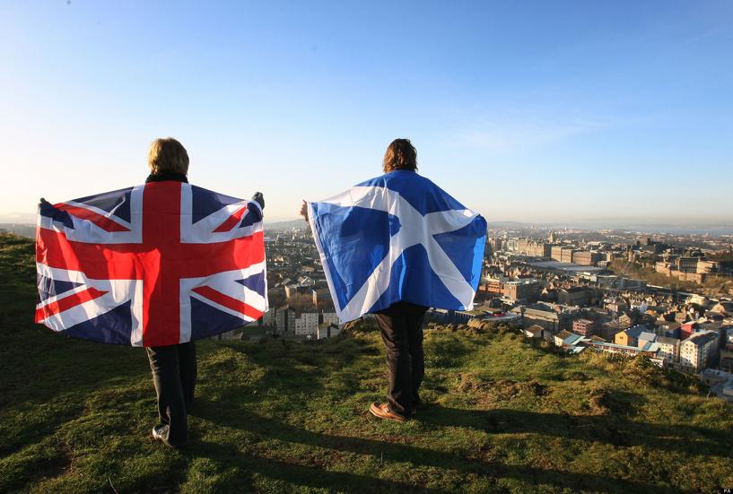Исторический момент: в Шотландии начался референдум за независимость