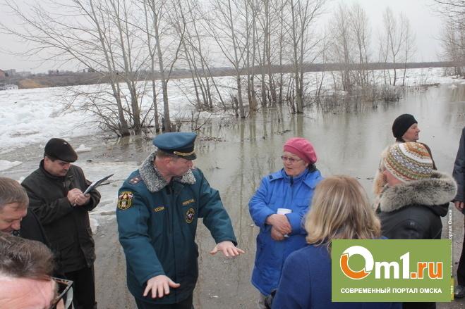 Поселок Затон в Омской области снова обещают затопить