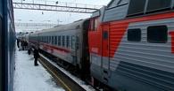 В Омске с поезда сняли пьяную женщину с ребенком