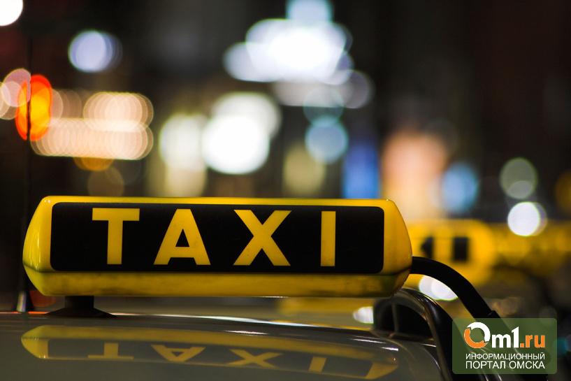 Омские полицейские нашли грабителя, угнавшего такси