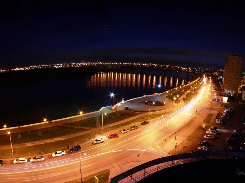 В Омске мотоциклистам запретят ездить ночью по Иртышской Набережной
