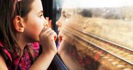 Мать-кукушка отправила двухлетнюю дочь поездом до Омска