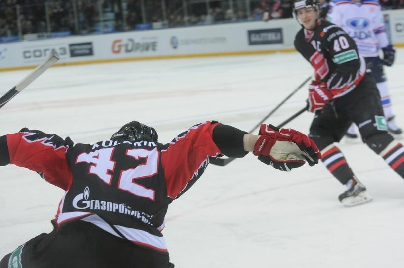 Омский «Авангард» победил «Барыс» в серии буллитов