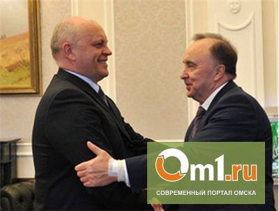 Губернатор Омской области встретился с экс-мэром Омска