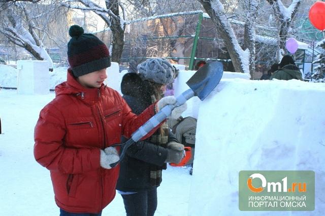 Омичи заняли третье место в XIII Международном сибирском фестивале снежной скульптуры