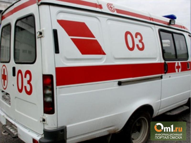 В Омске женщина упала со второго этажа гимназии №26