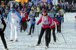 Омичи встали на лыжи: в городе прошли всероссийские соревнования «Лыжня России»