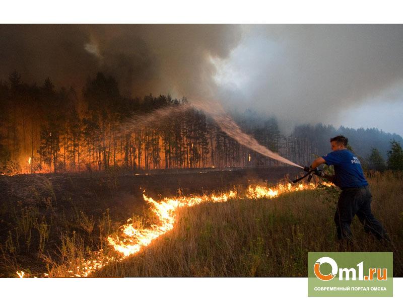 Деревни Омской области могут сгореть