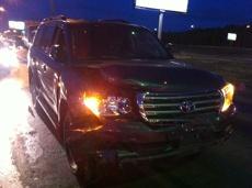 Полиция назначила экспертизу скорости Land Cruiser, протаранившего 7 авто в Омске