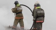 В Омске из горящего дома пожарные спасли восемь человек