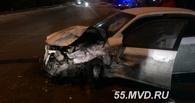 В Омске пьяный водитель за рулем иномарки протаранил три автомобиля