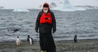 Патриарх Кирилл признался, что встреча с пингвинами напомнила ему о рае