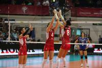 Российские волейболистки разгромили сборную Тайланда