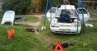В Омске за парковку на детской площадке придется заплатить 20 тысяч рублей