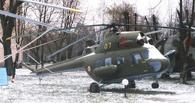 В Омской области разбился частный вертолет