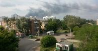 На заводе «Омский каучук» снова пожар (фото)