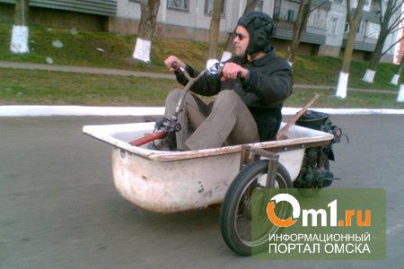 В Омске подросток спас ванну из рук грабителя