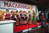В Челябинске испекли самый длинный фаршированный блин