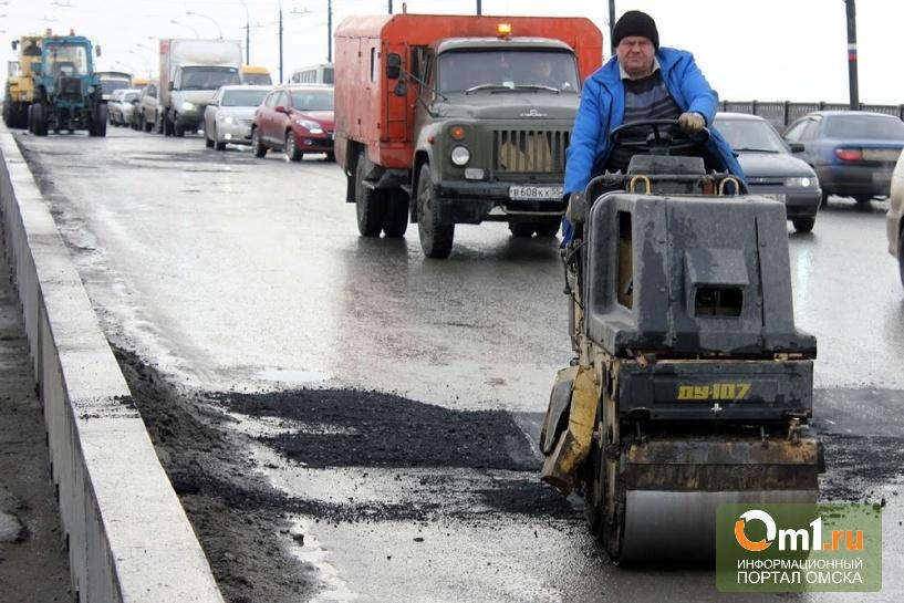 В Омске на дороги обещают тратить по 850 млн рублей в год