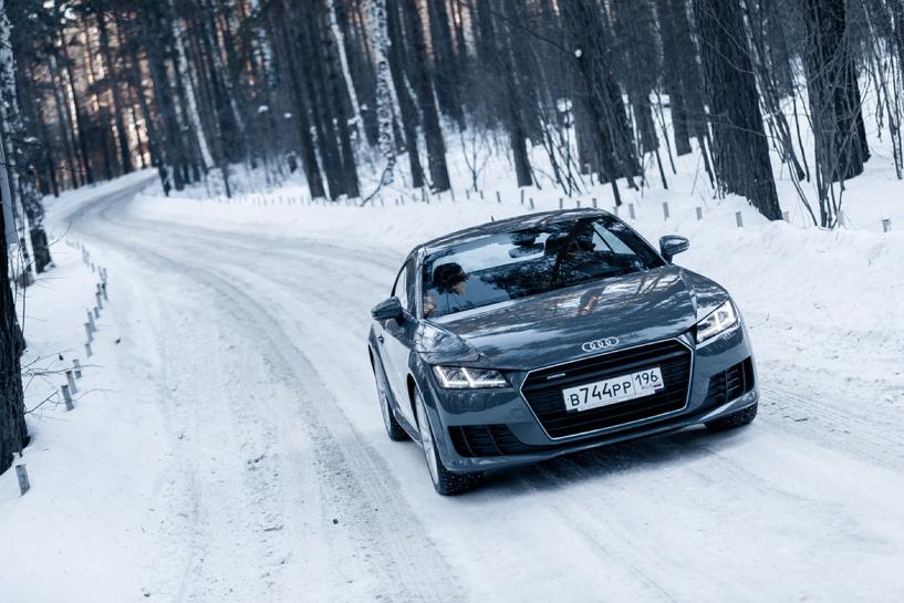 «Инспектор Гаджет», или Скользкий тест революционного Audi TT