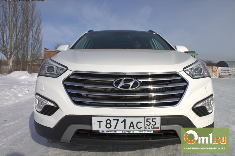 Завтра Om1 протестирует новую версию Hyundai Grand Santa Fe