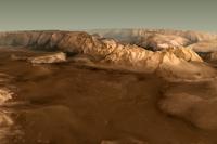 Астрономы создали 3D-карту Марса