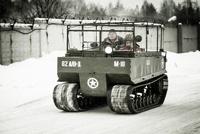 Вспоминая Нормандию: десантируемся на Studebaker M29C Weasel