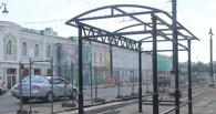 На Любинском проспекте установили будущую остановку (фото)