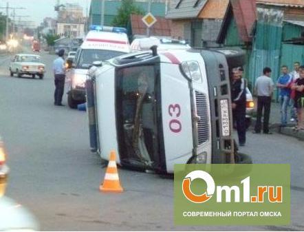 В ДТП со «скорой» в центре Омска пострадал грудной ребенок