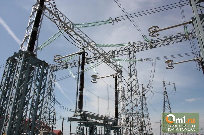 Омские власти и энергетики спорят из-за подстанции «Садовая»