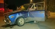 В Омске из-за снятого асфальта «шестерка» потеряла двигатель