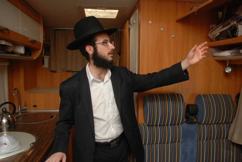 В Омск приедет синагога на колесах
