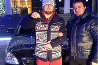 Кадырову подарили черную «Приору» за «лайк» в соцсети