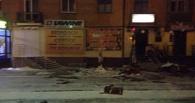 В Омске из-за ночной метели обрушился балкон