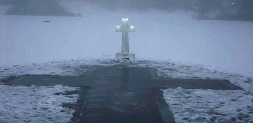 Где омичи смогут искупаться в проруби на Крещение? (карта)
