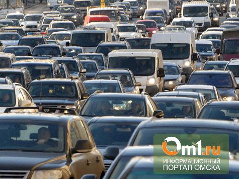 Трасса Омск - Пушкино не справилась с наплывом желающих отметить Масленицу