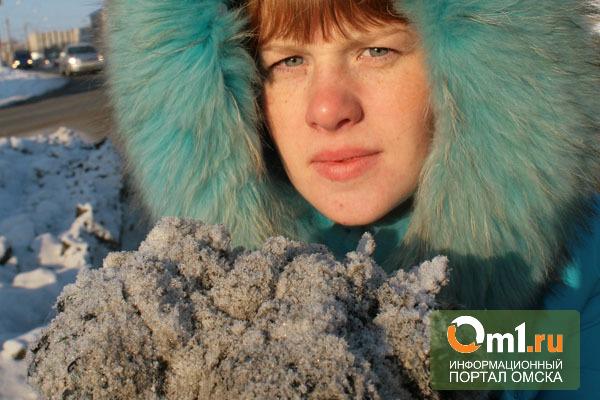 Виновником выпадения «черного снега» в Омске признана ТЭЦ-5