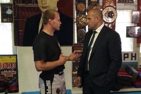 Федор Емельяненко сыграет в футбол против Александра Шлеменко