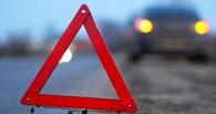 В Омске автоледи врезалась в маршрутку с пассажирами