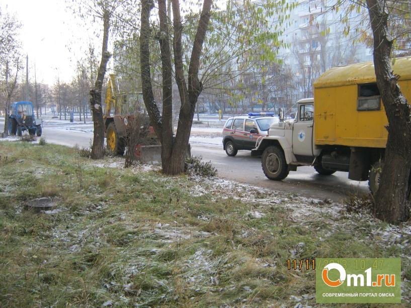 В Ленинском округе Омска уже дали холодную воду