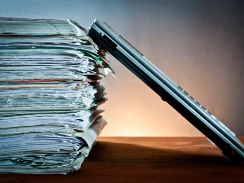 Омская администрация перейдет на электронный документооборот