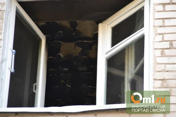 В Омске горевший диван стал причиной эвакуации