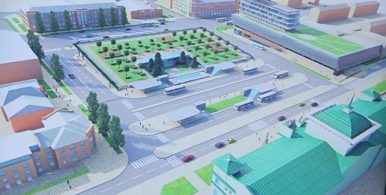 Около 3 млрд рублей потребуется на полную реконструкцию Привокзальной площади