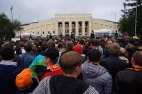 В России хотят вернуть пиво на стадионы